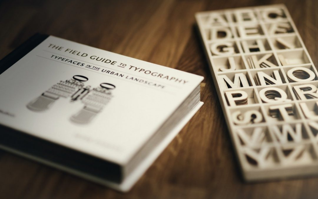 font kit and typography book