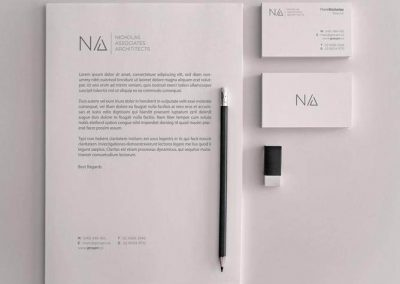 Nicholas Associates Architects Stationery