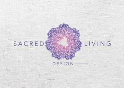 Sacred Living Design logo