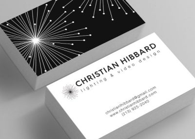 christian hibbard business cards
