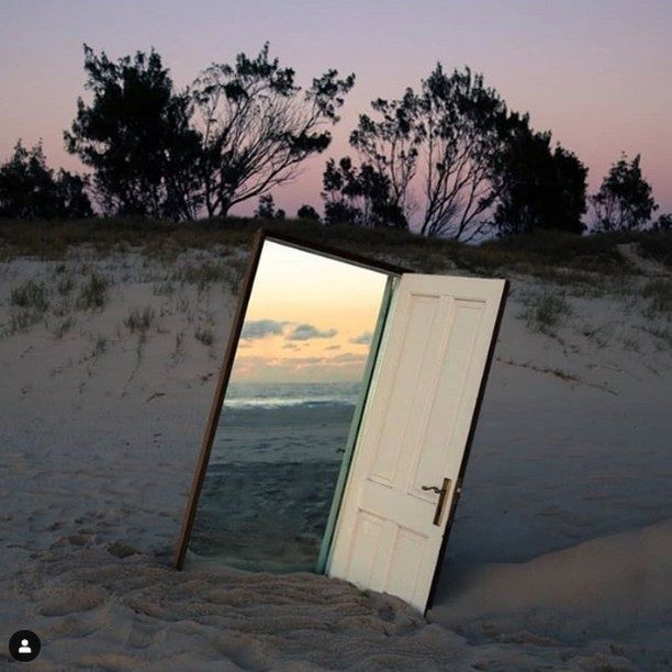 The place beyond the Door 🌊 . #art #digitalart #photography #beachlife #photoshop #exploreobserveshare #natureaesthetic #aesthetics #landscape #konbiniarts #subjectivelyobjective #designboom  #oceanview #thisweekoninstagram #natureart . Photo credit: @shirin.abedinirad